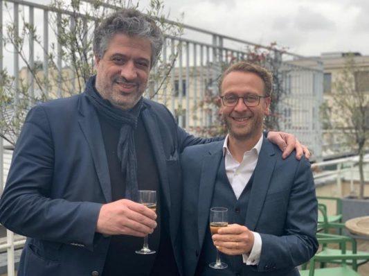 Olivier Renaud et Etienne Besancon